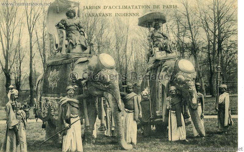1906 Jardin d'Acclimatation - Caravane Indienne 3