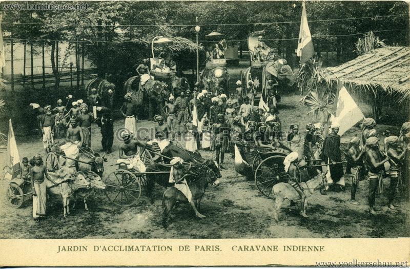 1906 Jardin d'Acclimatation - Caravane Indienne 1