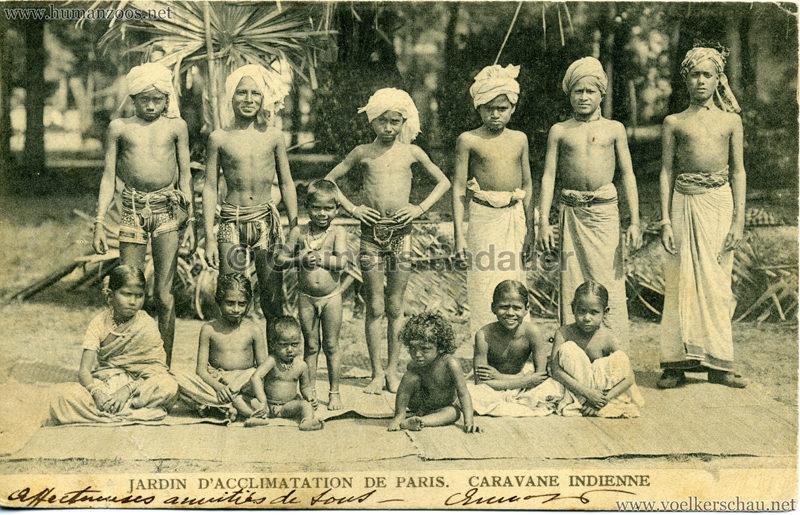 1906 Jardin d'Acclimatation - Caravane Indienne 19