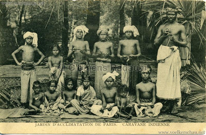 1906 Jardin d'Acclimatation - Caravane Indienne 18