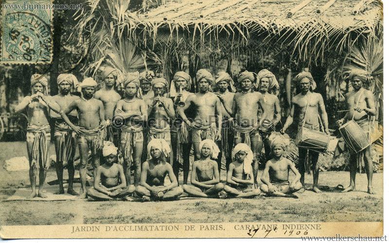 1906 Jardin d'Acclimatation - Caravane Indienne 7