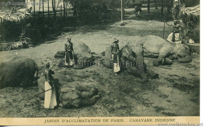 1906 Jardin d'Acclimatation - Caravane Indienne 4