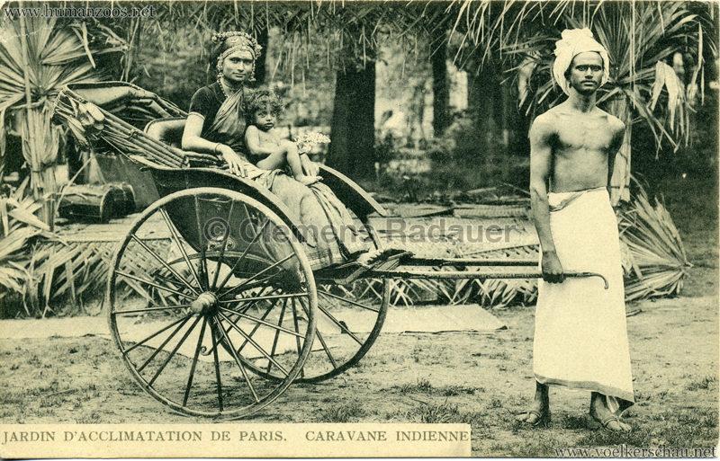 1906 Jardin d'Acclimatation - Caravane Indienne 14