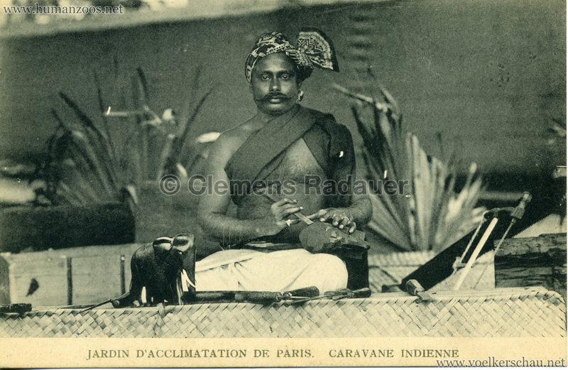 1906 Jardin d'Acclimatation - Caravane Indienne 9