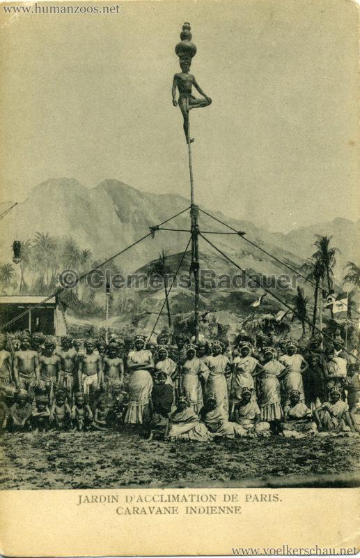 1906 Jardin d'Acclimatation - Caravane Indienne 5