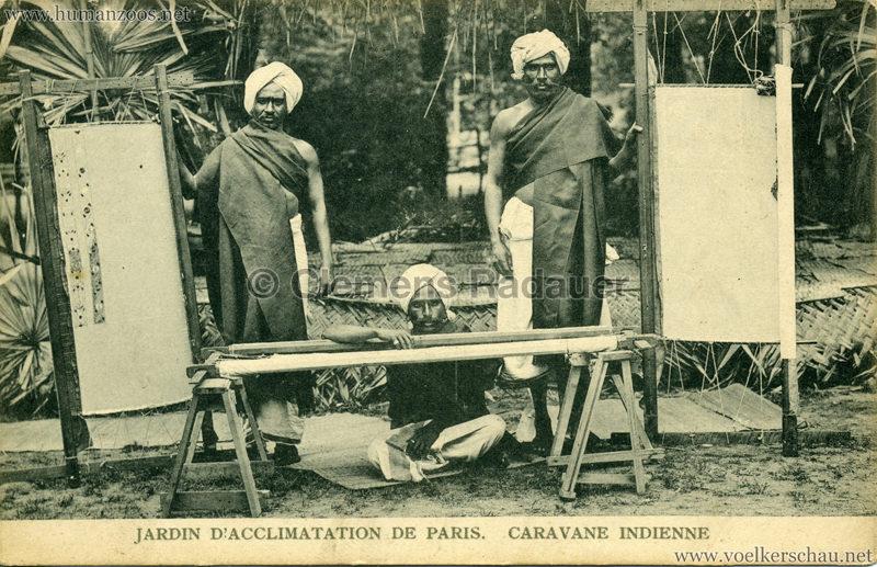 1906 Jardin d'Acclimatation - Caravane Indienne 13