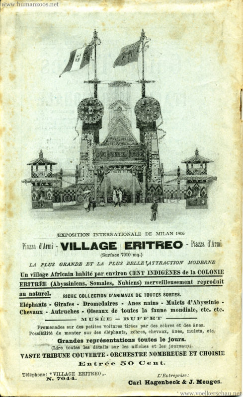 1906 Milan et son Exposition