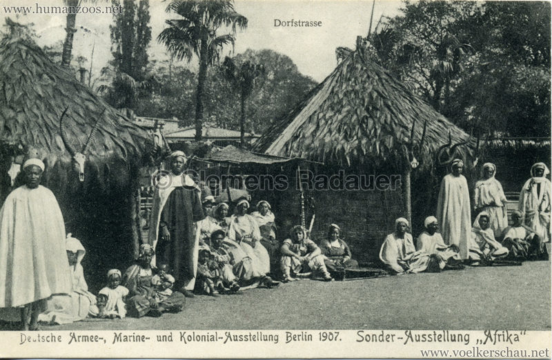 1907 Deutsche Armee-, Marine- und Kolonial-Ausstellung Berlin. Sonder-Ausstellung