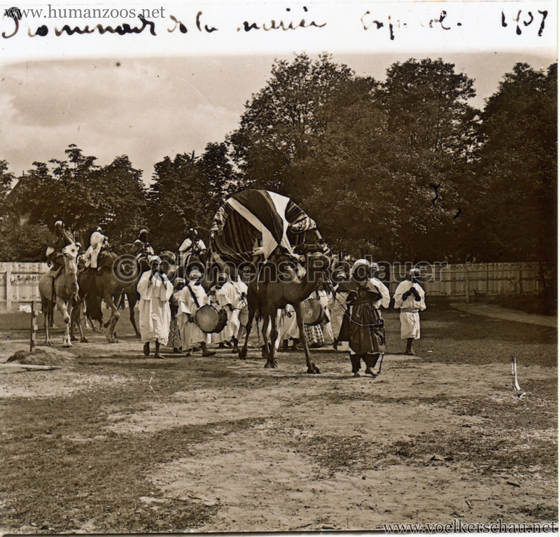 1907 Exposition Coloniale Paris, Bois de Vincennes 3