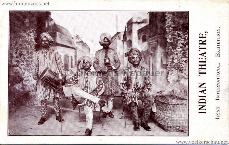 1907 Irish International Exhibition - Indian Theatre