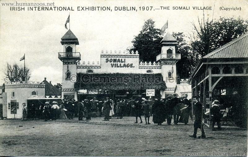 1907 Irish International Exhibition - Somali Village 1