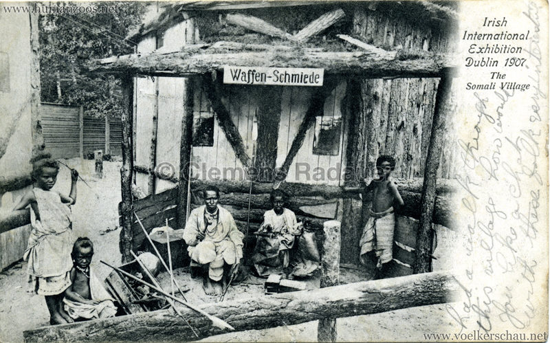 1907 Irish International Exhibition - Somali Village 2