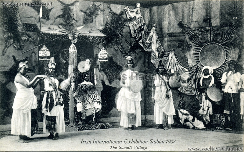 1907 Irish International Exhibition - Somali Village 3