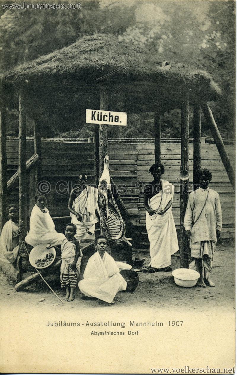 1907 jubiläumsausstellung mannheim – human zoos