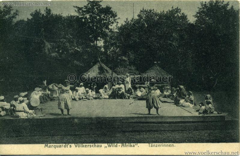 1907/1908 Marquardt's Völkerschau