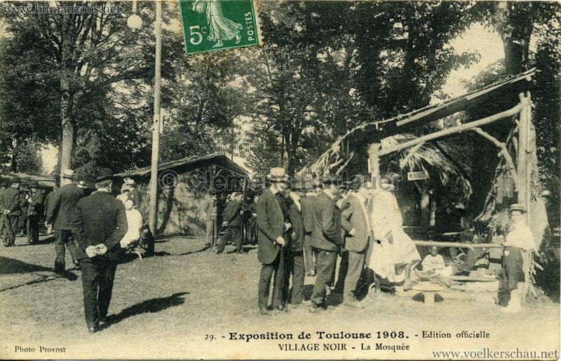1908 Exposition de Toulouse - 29. Village Noir - La Mosquée