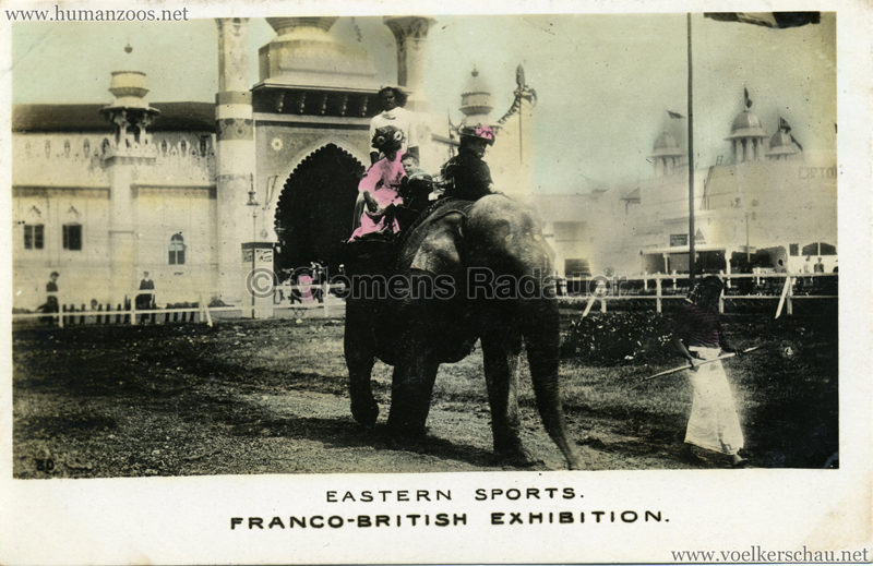 1908 Franco-British Exhibition - Eastern Sports