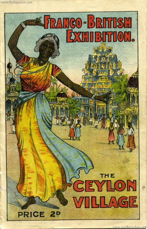 1908 Ceylon Village Booklet
