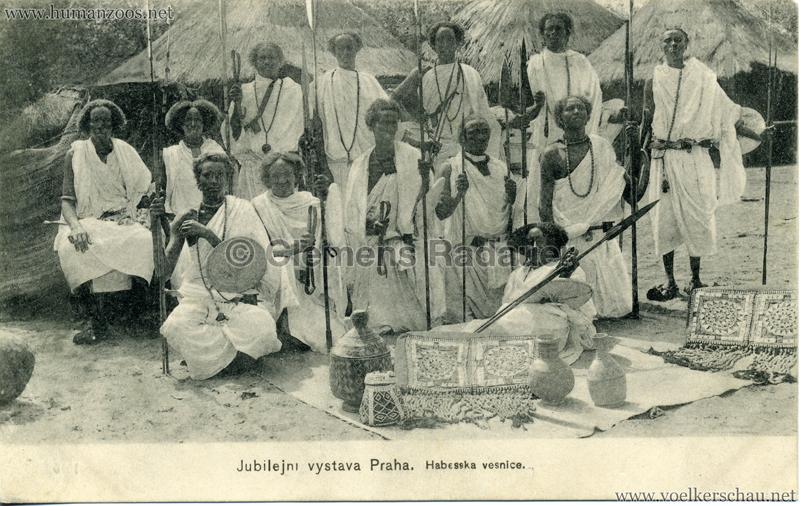 1908 Jubilejni vystava Praha, Abessinska vesnica 5