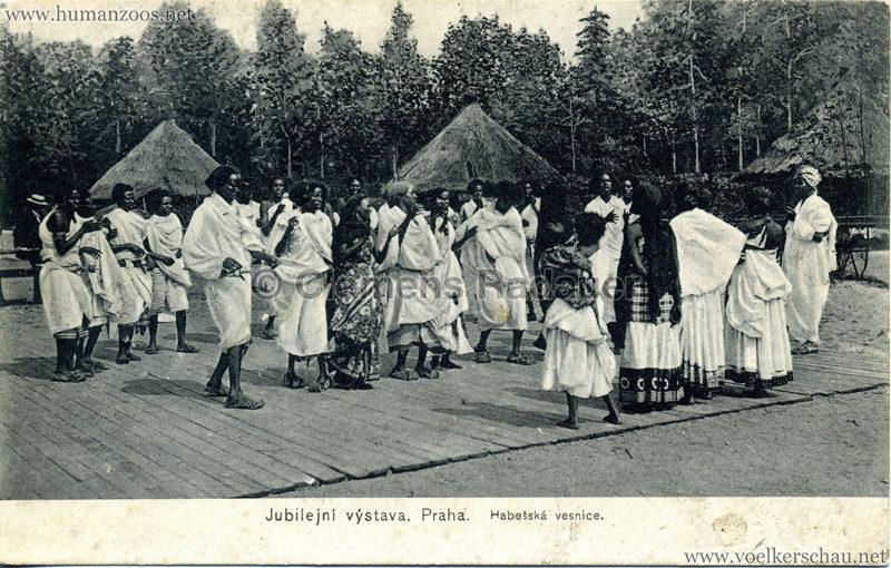 1908 Jubilejni vystava Praha, Abessinska vesnica 6