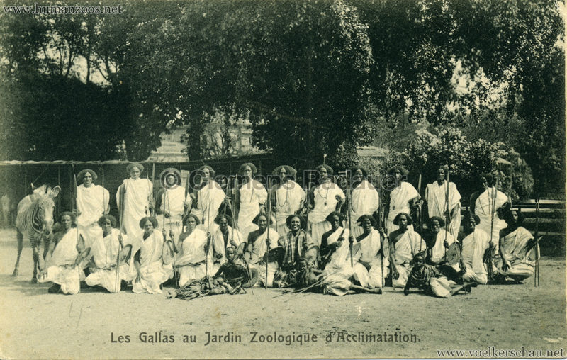 1908 Les Gallas - Jardin d'Acclimatation - 10