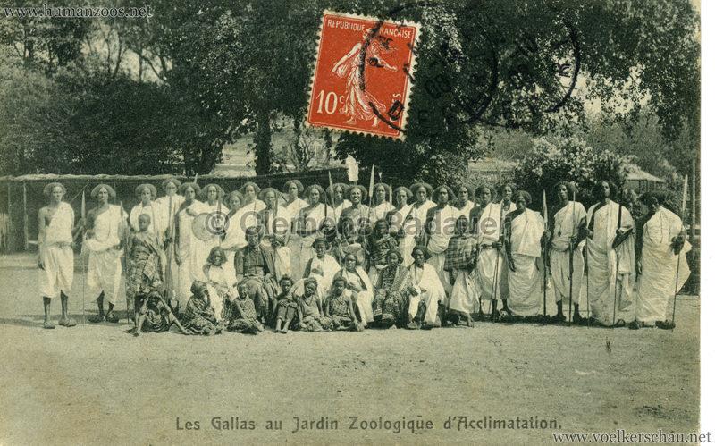 1908 Les Gallas - Jardin d'Acclimatation - 3