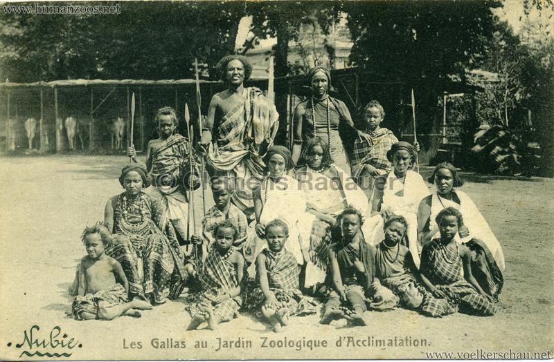 1908 Les Gallas - Jardin d'Acclimatation - 4