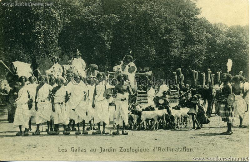 1908 Les Gallas - Jardin d'Acclimatation - 5