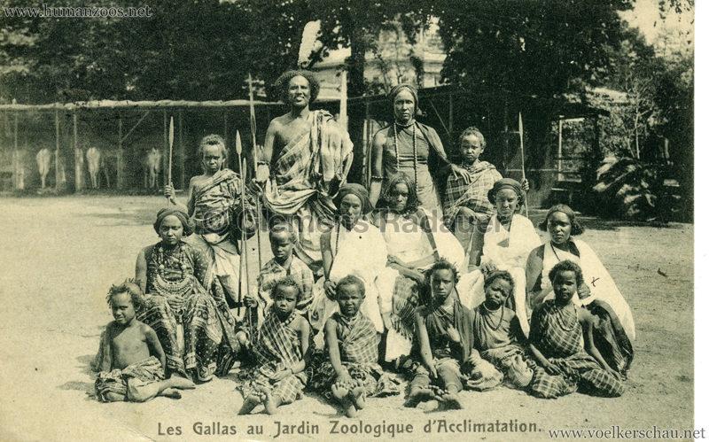 1908 Les Gallas - Jardin d'Acclimatation - 7
