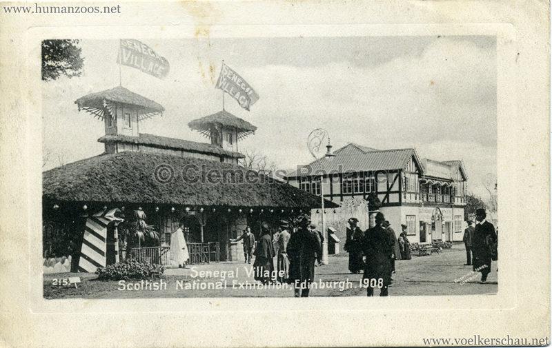 1908 Scottish National Exhibition - Senegalese Village - 215