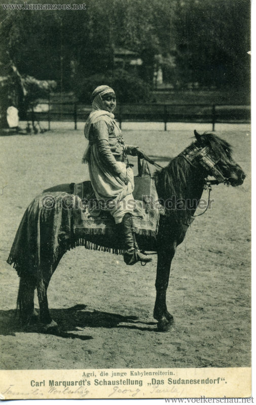 1909 Carl Marquardt's Schaustellung