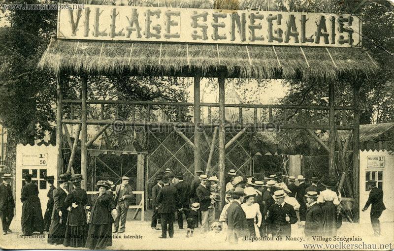 1909 Exposition de Nancy - Village Sénégalais