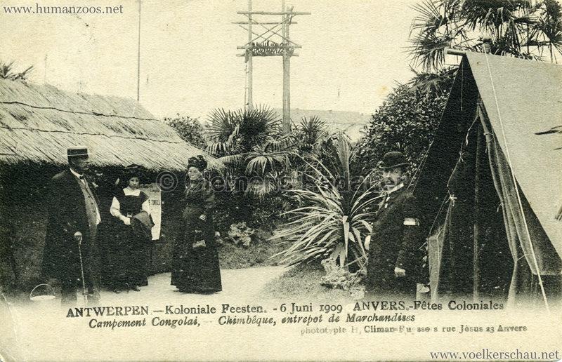 1909 Fêtes Coloniales Anvers - Village Noir 2