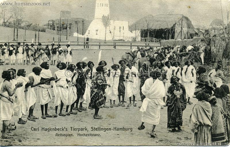 1909 Hagenbeck Aethiopien - 12. Hochzeitstanz