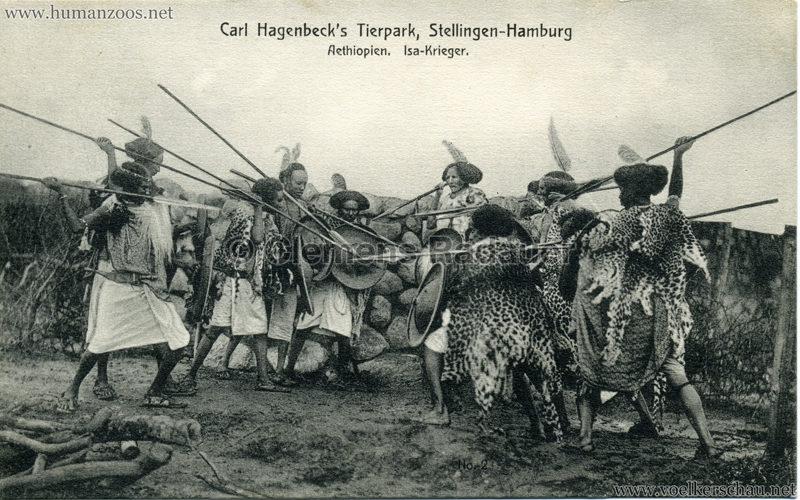 1909 Hagenbeck Aethiopien - 2. Isa-Krieger