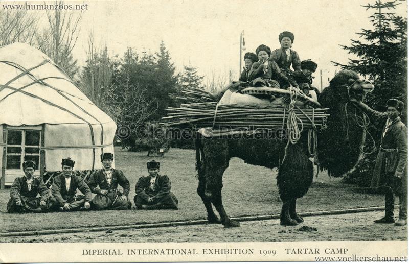 1909 Imperial International Exhibition - Tartar Camp 2