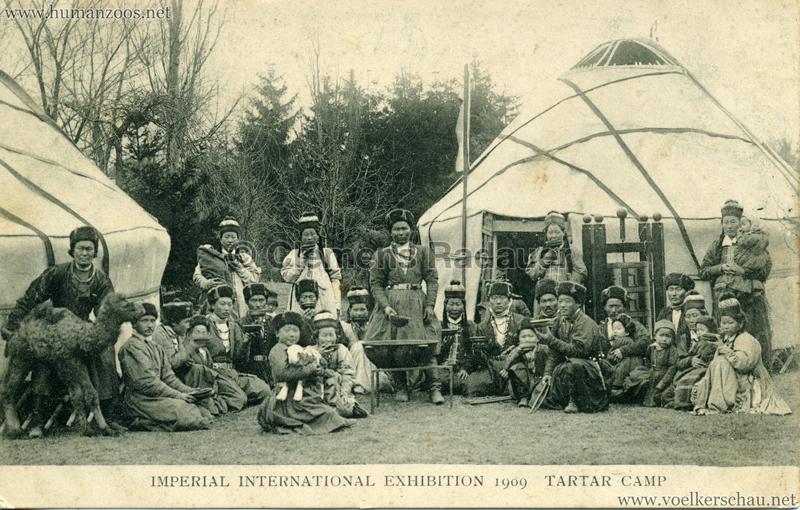 1909 Imperial International Exhibition - Tartar Camp 7