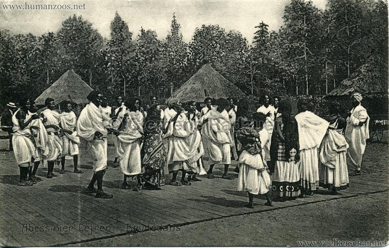 1909/1910 Aarhus - Abessinier Lejren - Brudedans