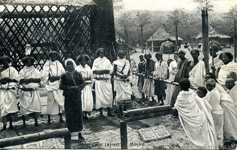 1909/1910 Bergen - Abessinier Lejren - Moske