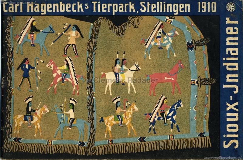 1910 Carl Hagenbeck's Tierpark, Stellingen - Sioux Indianer