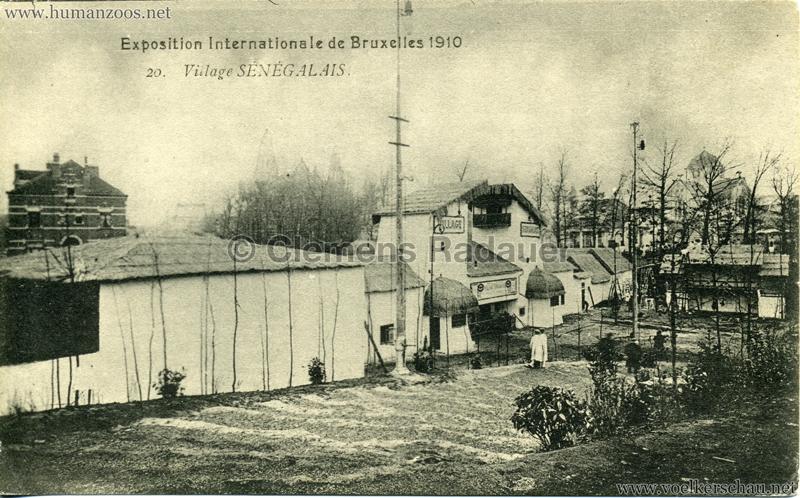 1910 Exposition de Bruxelles - Le Village Sénégalais 2