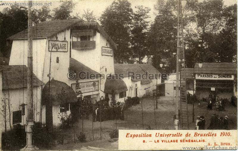 1910 Exposition de Bruxelles - Le Village Sénégalais 3