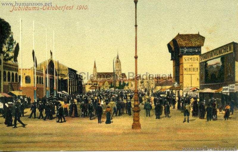 1910 Jubiläums-Oktoberfest - Samoa in München