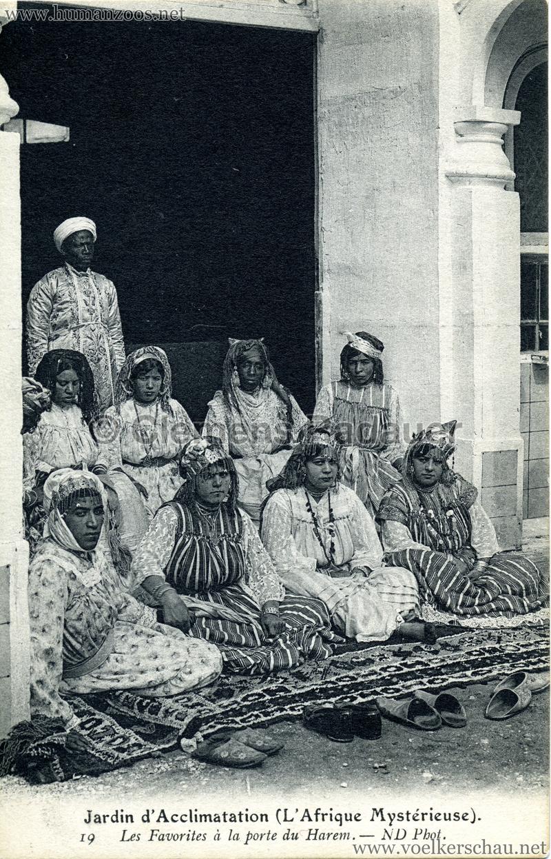1910 l afrique myst rieuse jardin d acclimatation for Atelier du jardin d acclimatation