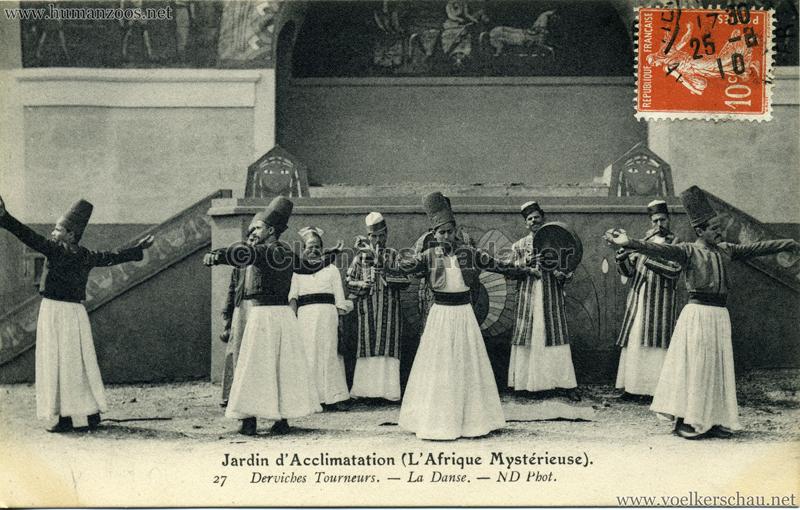 1910 L'Afrique Mystérieuse - Jardin d'Acclimatation - 27. Derviches Tourneurs - La Danse