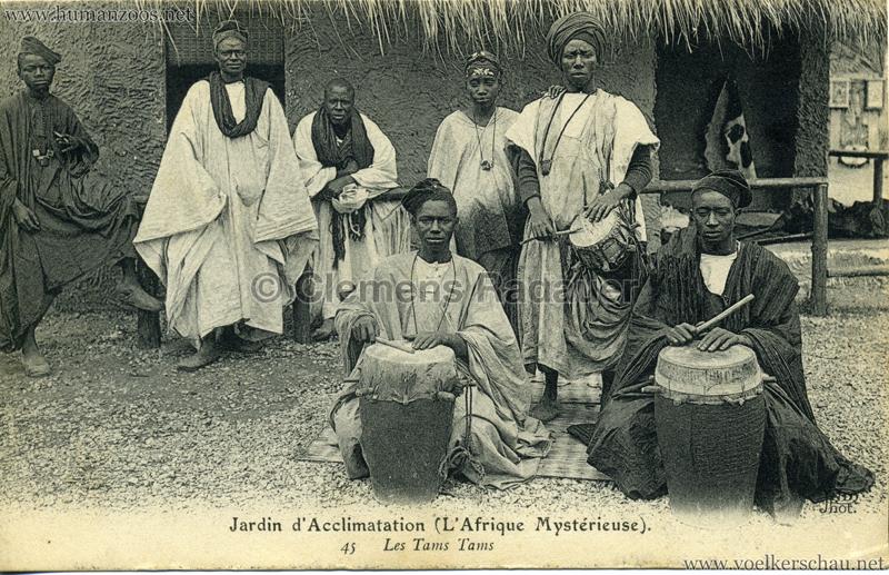 1910 L'Afrique Mystérieuse - Jardin d'Acclimatation - 45. Les Tams Tams
