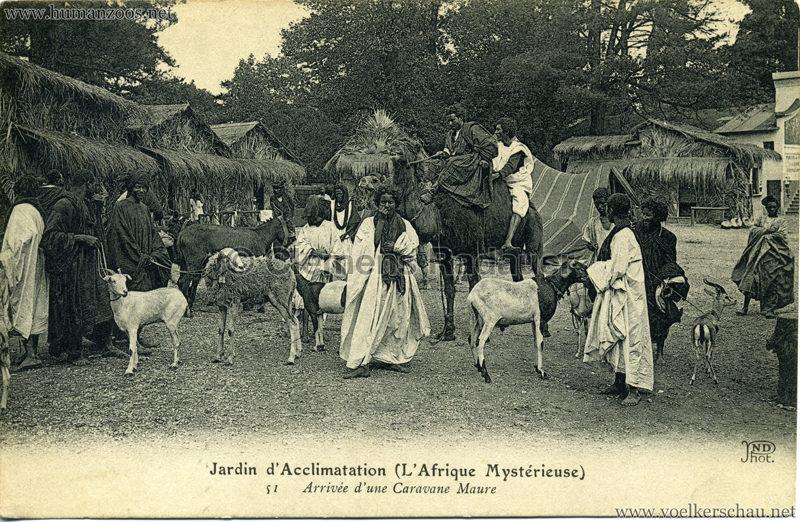 1910 L'Afrique Mystérieuse - Jardin d'Acclimatation - 51. Arrivée d'une Caravane Maure