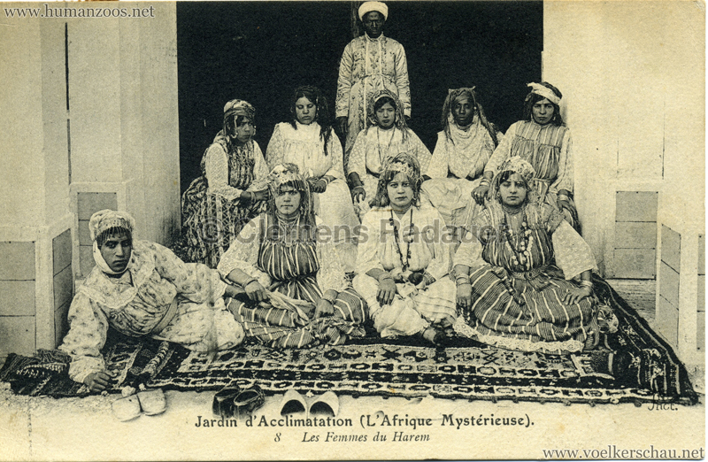 1910 L'Afrique Mystérieuse - Jardin d'Acclimatation - 8. Les Femmes du Harem