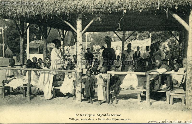 1910 L'Afrique Mystérieuse - Jardin d'Acclimatation - Salle de Rejouissances