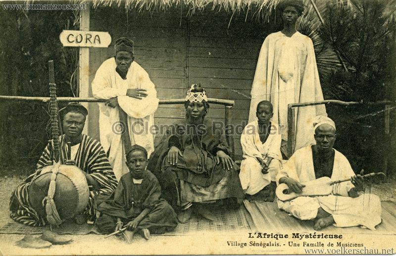 1910 L'Afrique Mystérieuse - Jardin d'Acclimatation - Une Famille de Musiciens